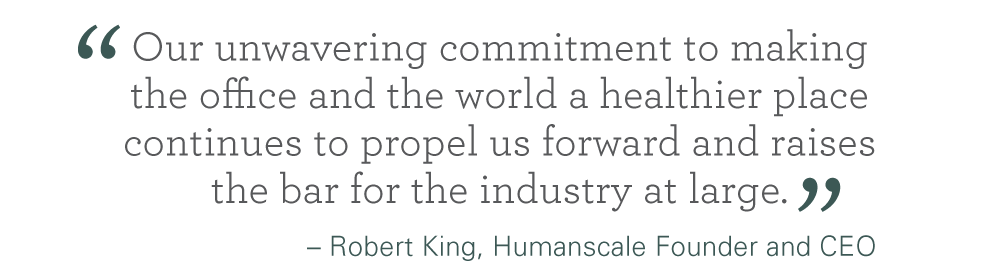 Humanscale's Annual Corporate Social Responsibility Report