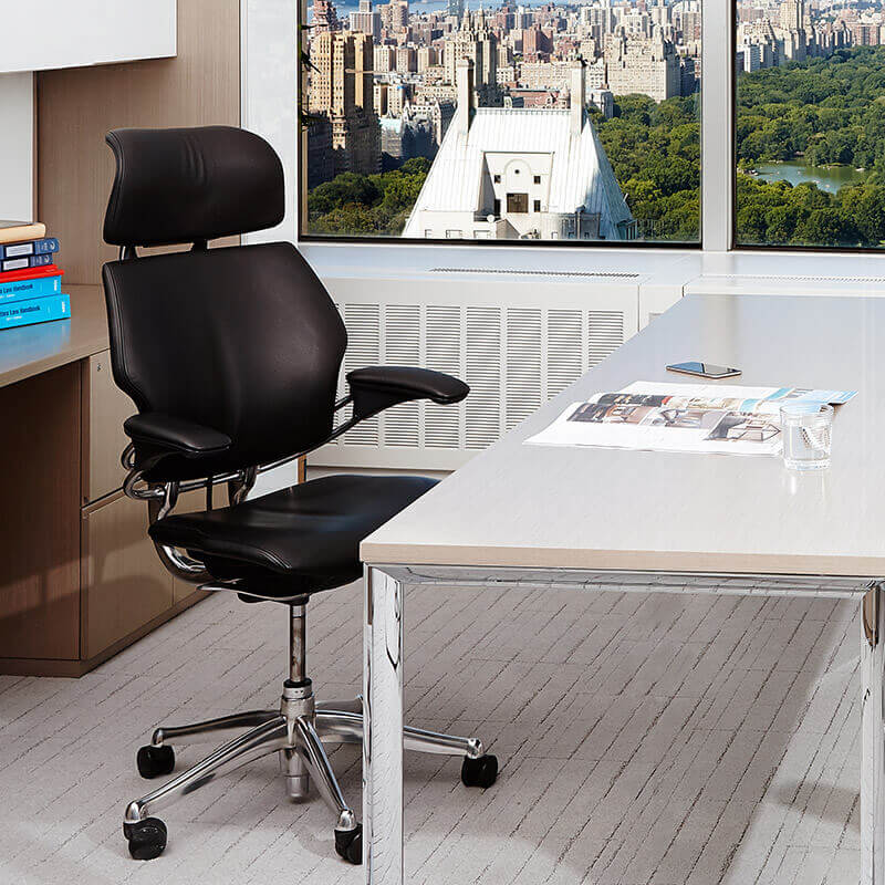 Freedom Task Chair with Headrest | Ergonomic Seating from Humanscale
