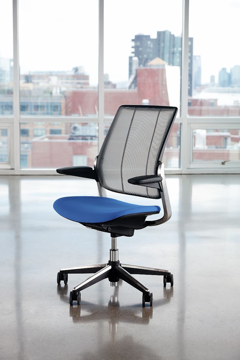 Diffrient Smart Chair Humanscales newest office seating solution